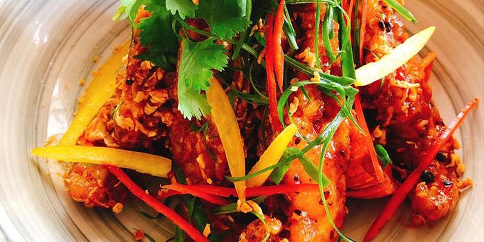 Fresh Slipper Lobster in Secret Spicy Sauce, MoMo Cafe (Sai Ying Pun), Sai Ying Pun, Hong Kong