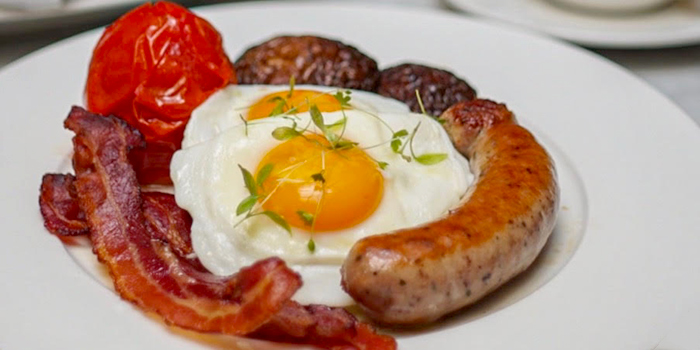 Full English Breakfast from The English House by Marco Pierre White in Robertson Quay, Singapore