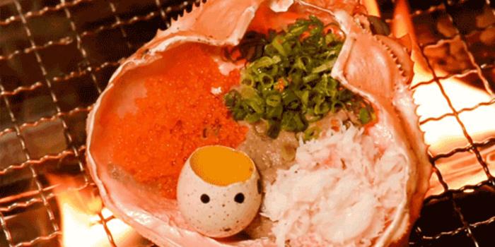 Grilled Crab Meat with Crab Paste Mix Egg, Nan Ei Sui San, Tsim Sha Tsui, Hong Kong