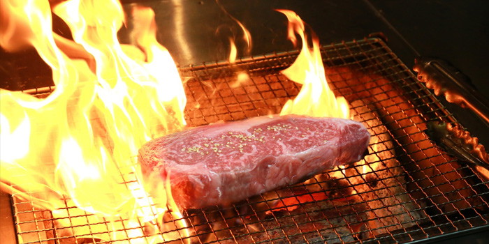 , Nice Yakiniku & Fine Wine, Causeway Bay, Hong KongGrilled Waygu Steak