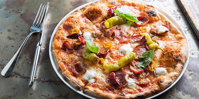Hong Kong Hot Pizza, Jamie's Italian, Tsim Sha Tsui, Hong Kong