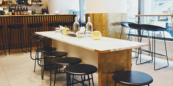 Interior, INTERVAL Coffee Bar, Central, Hong Kong