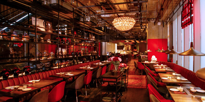 Interior, Redhouse (Midtown), Causeway Bay, Hong Kong
