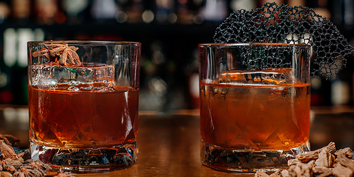 Lasang Souchong & Rickshaw Redemption from Alley Bar at Peranakan Place in Orchard, Singapore