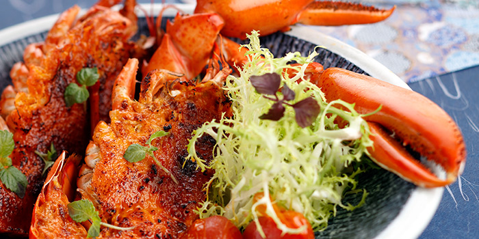 Lobster Mentaiko from Triple Three Restaurant in Mandarin Orchard Singapore in Orchard, Singapore