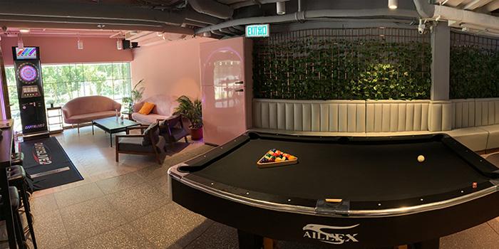 Lounge Area, Strokes HK, Causeway Bay, Hong Kong