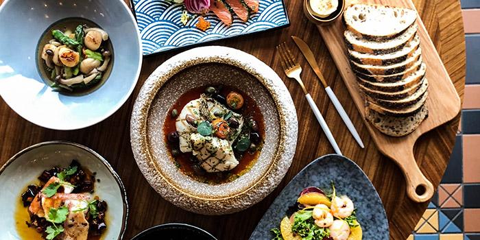 Lunch Buffet Food Variety, Big Bay Cafe, Hung Hom, Hong Kong