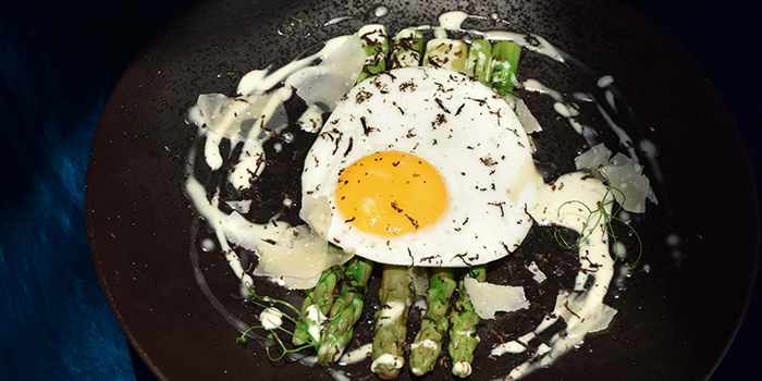 MO ala Egg from Monti in Fullerton, Singapore