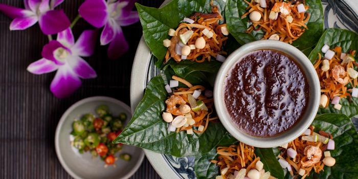 Miang Kum from Thiptara at The Peninsula Bangkok