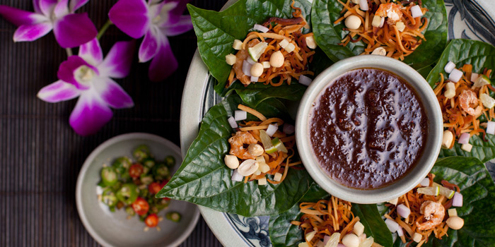 Miang Kum from Thiptara at The Peninsula Bangkok