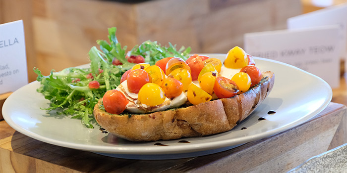 Tomato Mozzarella Sandwich at NSNTR (Mercure Jakarta Pantai Indah Kapuk)