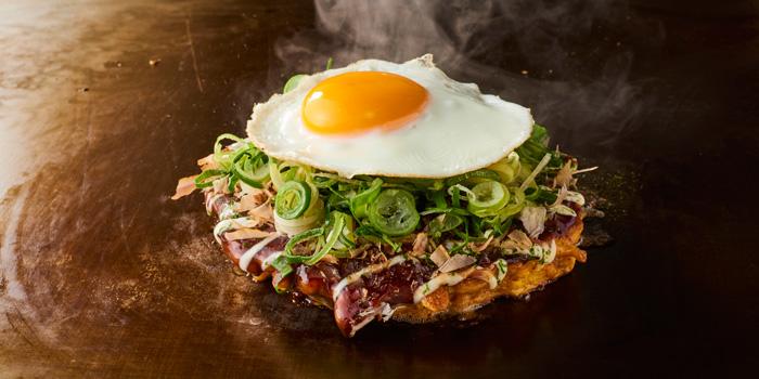 Negi Tamago Okonomiyaki at Chibo, Gandaria City