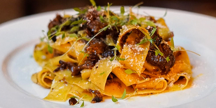 Papardelle of Braised Oxtail from The English House by Marco Pierre White in Robertson Quay, Singapore