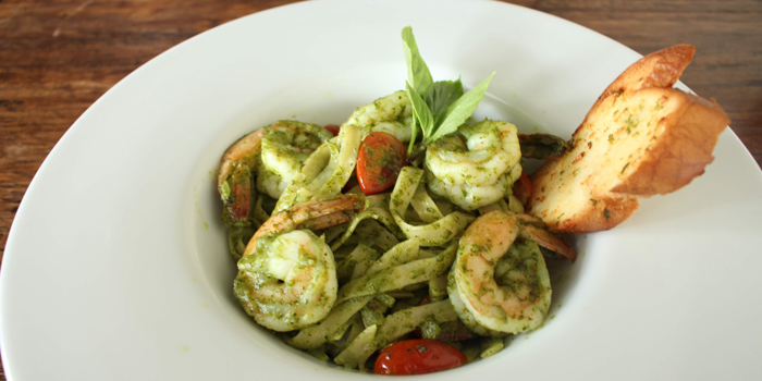 Pasta Dishes from Nomad Rooftop Lounge and Bar at Galleria 10 hotel Bangkok 21 sukhumvit soi 10 Bangkok