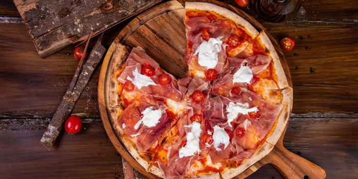 Pizza Dishes from Brunello at 15 Soi Rama IX 58 Suanluang Bangkok