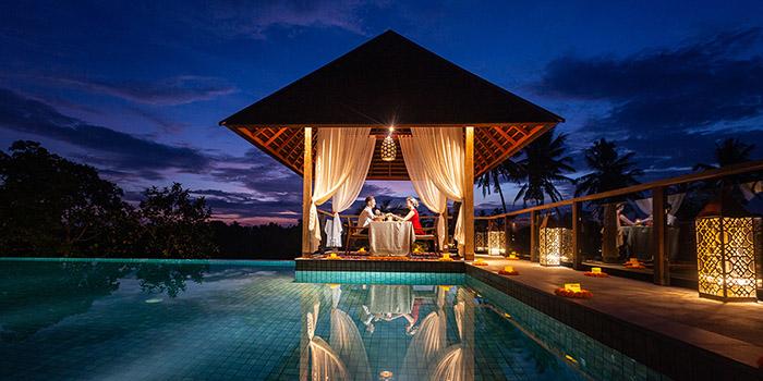 Romantic Dinner from Kalyana Restaurant, Ubud, Bali
