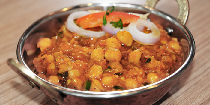 Lahori Chole from Anglo Indian Cafe & Bar (Marina One) at Marine One in Marina Bay, Singapore