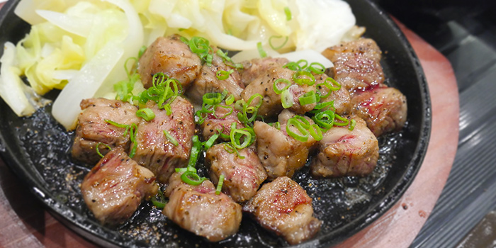 Wagyu Dice Steak Don from Bonta Bonta in Wisma Atria Shopping Centre in Orchard Road, Singapore