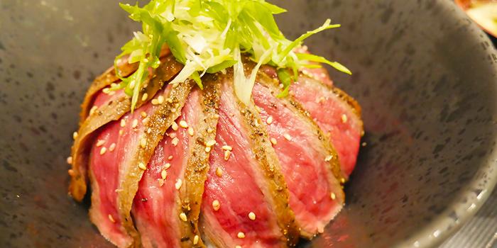 Wagyu Steak Don from Bonta Bonta in Wisma Atria Shopping Centre in Orchard Road, Singapore