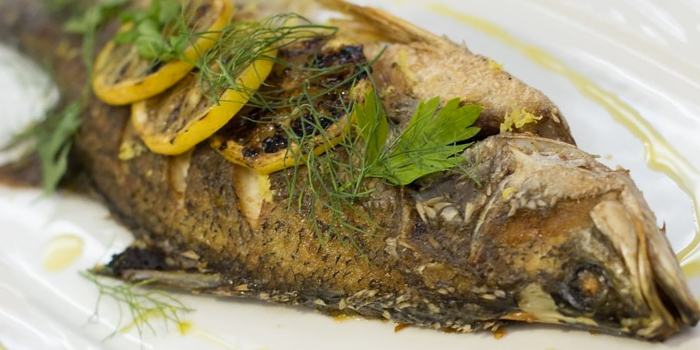 Fish from CIA ToP Table at Temasek Culinary Academy in Tampines, Singapore