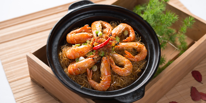 Sauteed Prawn in Special Sauce from Crystal Jade Pavilion at Crowne Plaza Changi Airport in Changi, Singapore