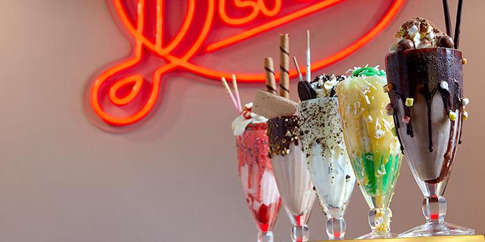 Milkshakes from Capitol Milk Bar at Arcade @ The Capitol Kempinski in City Hall, Singapore