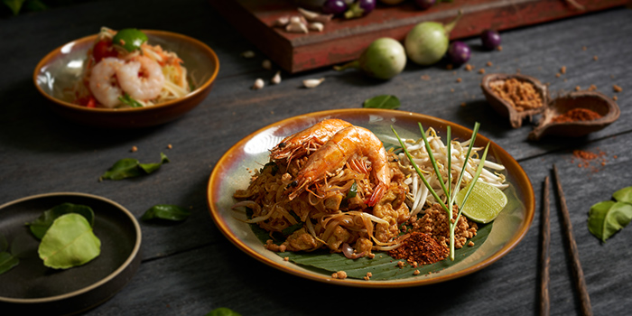 Phat Thai Hung from Chalerm Thai at Arcade @ The Capitol Kempinski in City Hall, Singapore