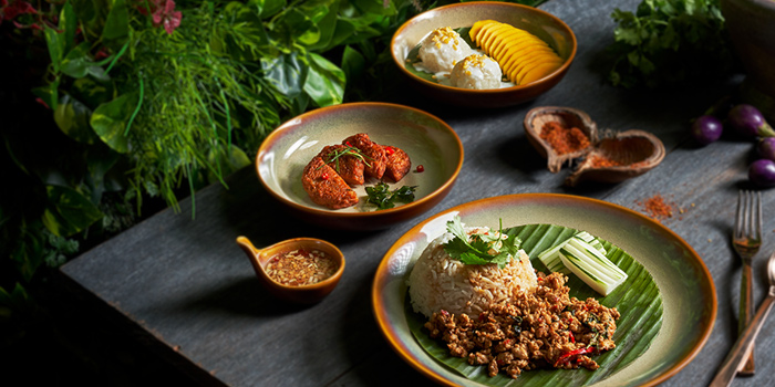 Three Course from Chalerm Thai at Arcade @ The Capitol Kempinski in City Hall, Singapore