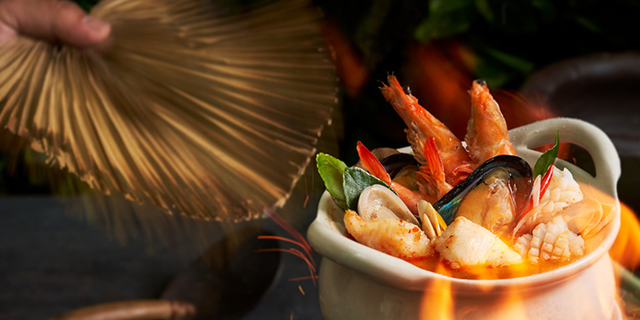 Tom Yum Gong from Chalerm Thai at Arcade @ The Capitol Kempinski in City Hall, Singapore