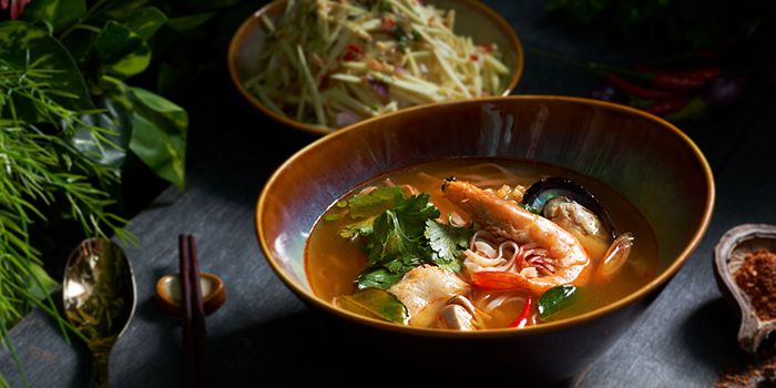 Two Course from Chalerm Thai at Arcade @ The Capitol Kempinski in City Hall, Singapore