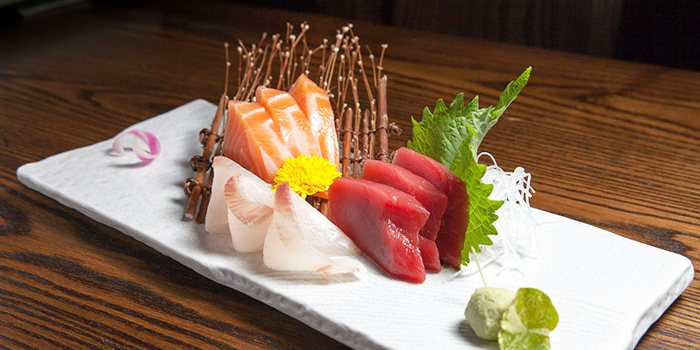 Sashimi from Coleman