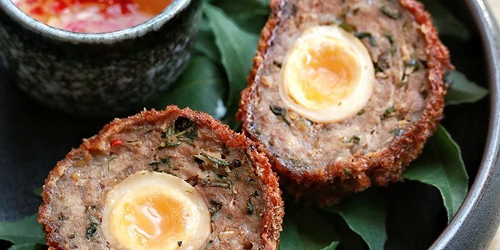 Scotch Egg from Ding Dong in Raffles Place, Singapore