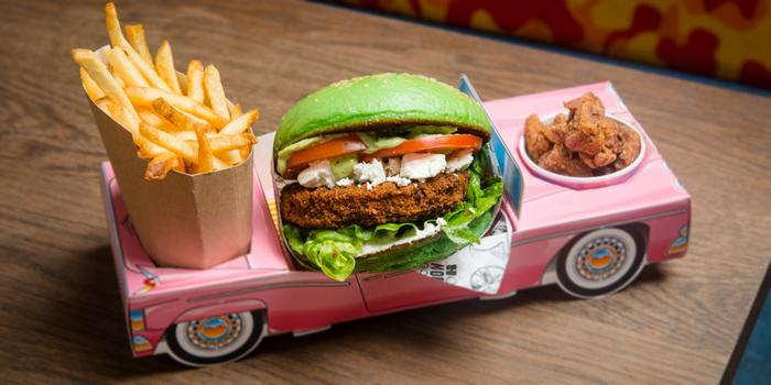 Burger Box from Holey Moley Golf Club (Dining) in Clarke Quay, Singapore
