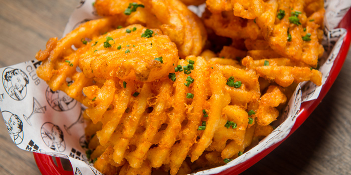 Waffle Fries from Holey Moley Golf Club (Dining) in Clarke Quay, Singapore