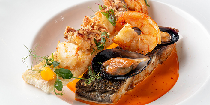 Seafood Bouillabaisse from Mon Bijou at Claymore Connect in Orchard, Singapore