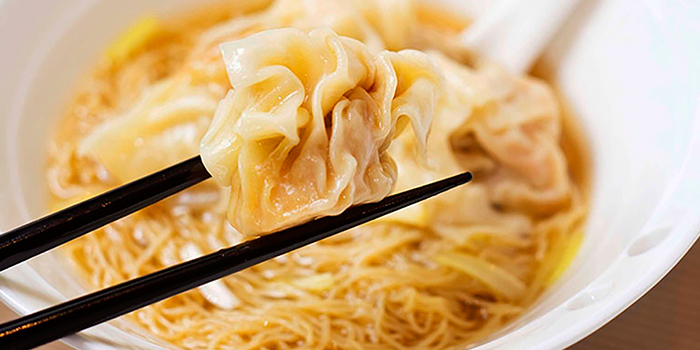 HK Wanton Noodle Soup from Mouth Restaurant at Air View Building in Tanjong Pagar, Singapore