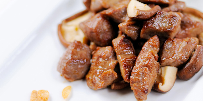Tenderloin Beef Cubes in Koba Sauce from Mouth Restaurant at Air View Building in Tanjong Pagar, Singapore