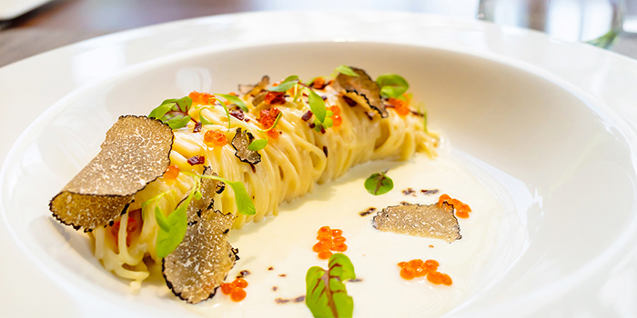 Truffle Spaghetti Capellini (6-25 Aug) from Osia Steak & Seafood Grill at Resorts World Sentosa in Sentosa, Singapore