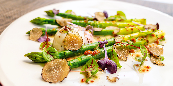 Truffle Steamed Asparagus (6-25 Aug) from Osia Steak & Seafood Grill at Resorts World Sentosa in Sentosa, Singapore