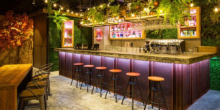Bar Interior of Omakase Burger @ Picnic at Wisma Atria in Orchard Road, Singapore