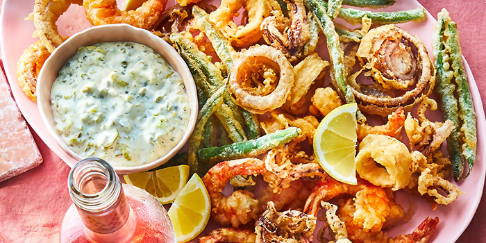 Fritto Misto from Roots Mediterranean in Bukit Timah, Singapore
