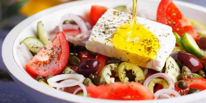 Horiatiki Salata Greek Salad from Roots Mediterranean in Bukit Timah, Singapore