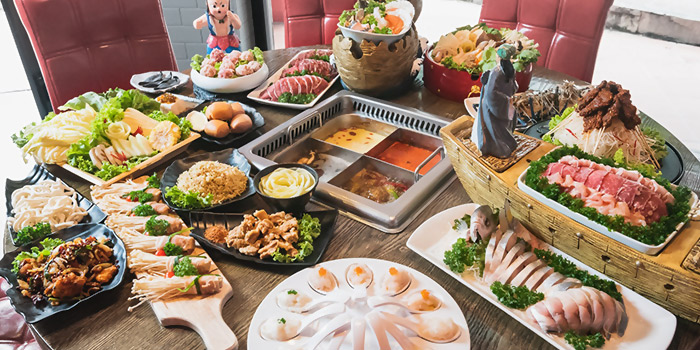 Overview from Hotpot Heroes 火鍋英雄 in Tanjong Katong, Singapore