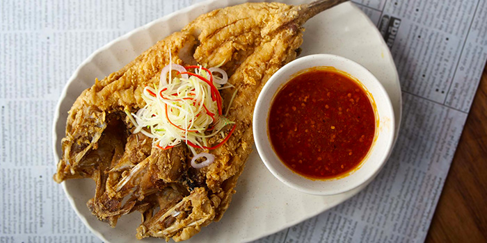 Fish Salad from Spicy Thai-Thai Cafe in Bedok, Singapore