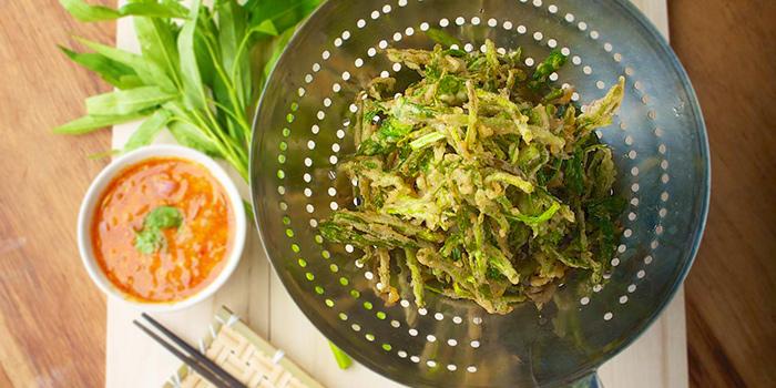 Fried KangKong from Spicy Thai-Thai Cafe in Bedok, Singapore