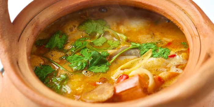Tom Yum Soup from Spicy Thai-Thai Cafe in Bedok, Singapore