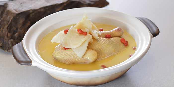 Double-Boiled Fish Maw and Chicken Soupfrom TASTE by TungLok at Park Regis Singapore in Clarke Quay, Singapore
