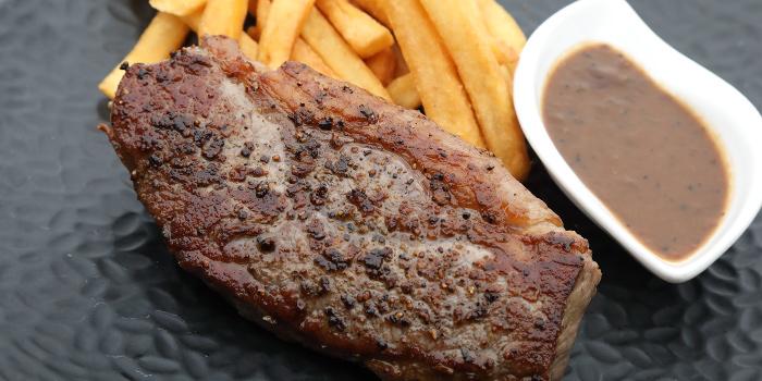 AU Beef Striploin Steak from Takada Grill & Bar in Tanjong Pagar, Singapore