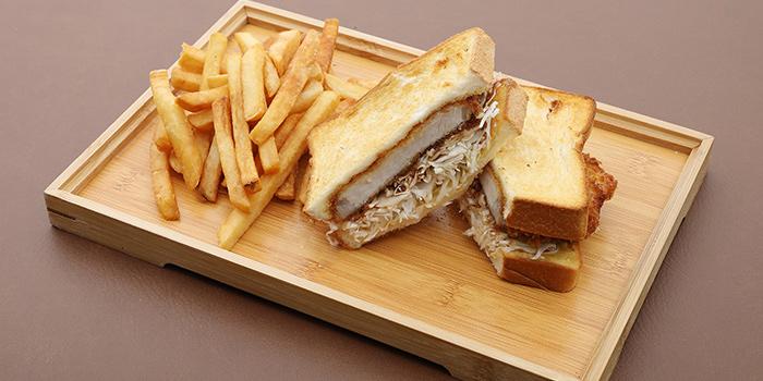 Pork Katsu Sandwich from Takada Grill & Bar in Tanjong Pagar, Singapore