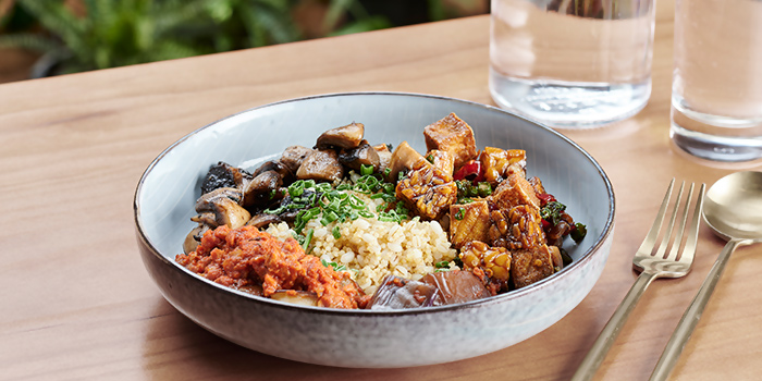 Quick Serve Bowl from The Garden Club at OUE Downtown Gallery in Tanjong Pagar, Singapore